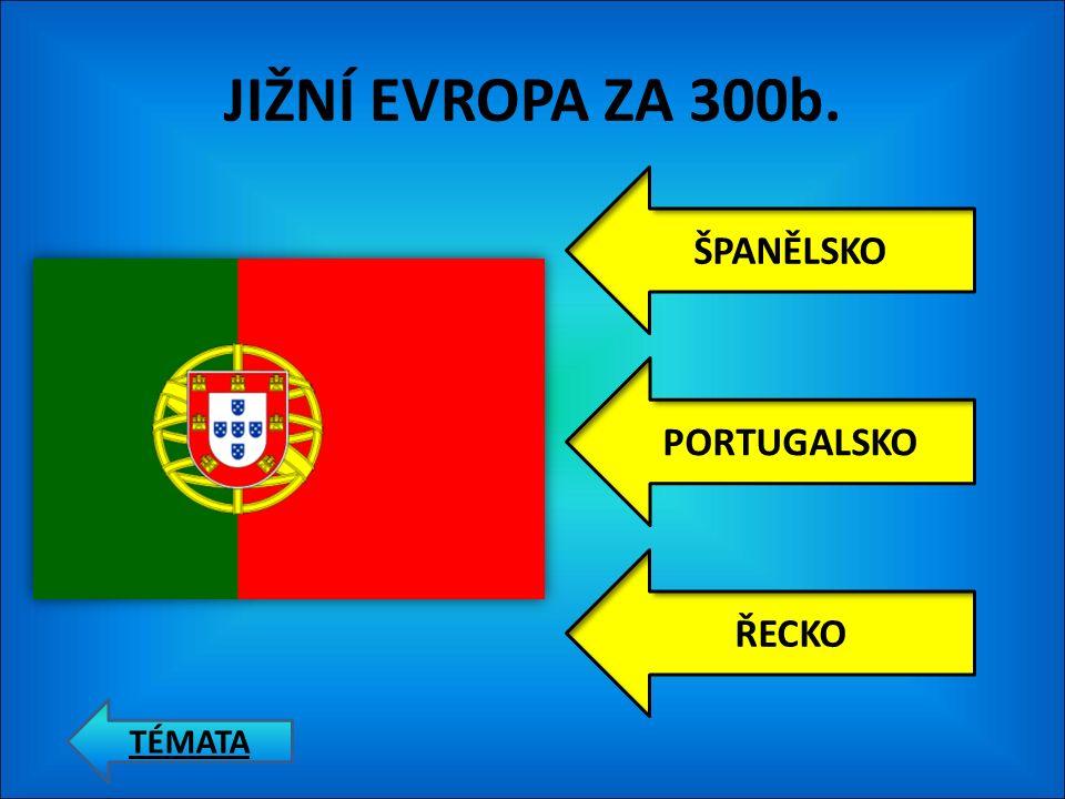 JIŽNÍ EVROPA ZA 200b. ŠPANĚLSKO PORTUGALSKO ŘECKO TÉMATA
