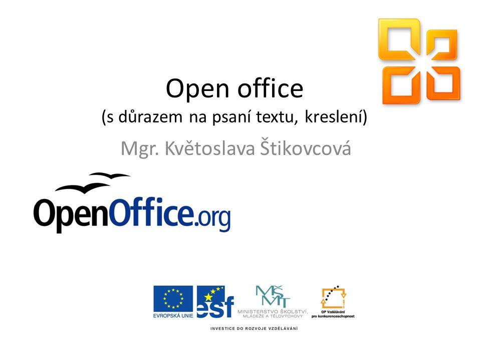 Co je Open office nástroje potřebné při běžné kancelářské práci alternativa známějšího MS Office