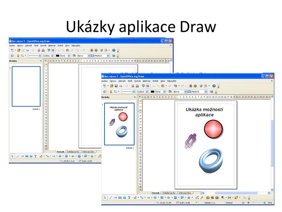 Ukázky aplikace Draw