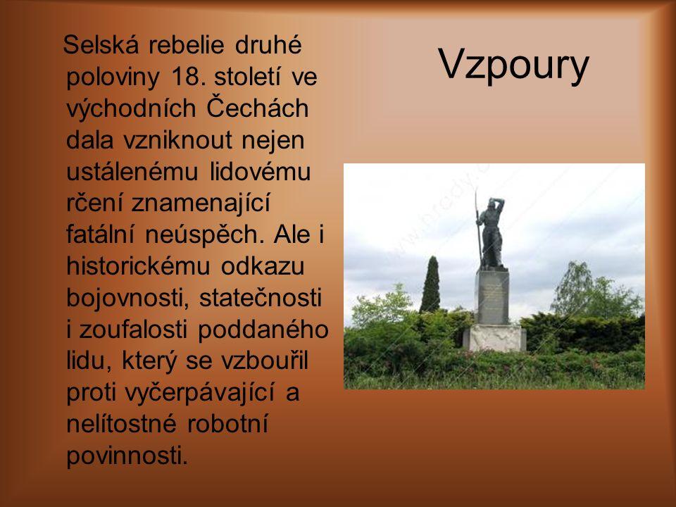 Vzpoury Selská rebelie druhé poloviny 18. století ve východních Čechách dala vzniknout nejen ustálenému lidovému rčení znamenající fatální neúspěch. A