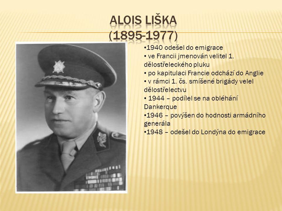 1940 odešel do emigrace ve Francii jmenován velitel 1.