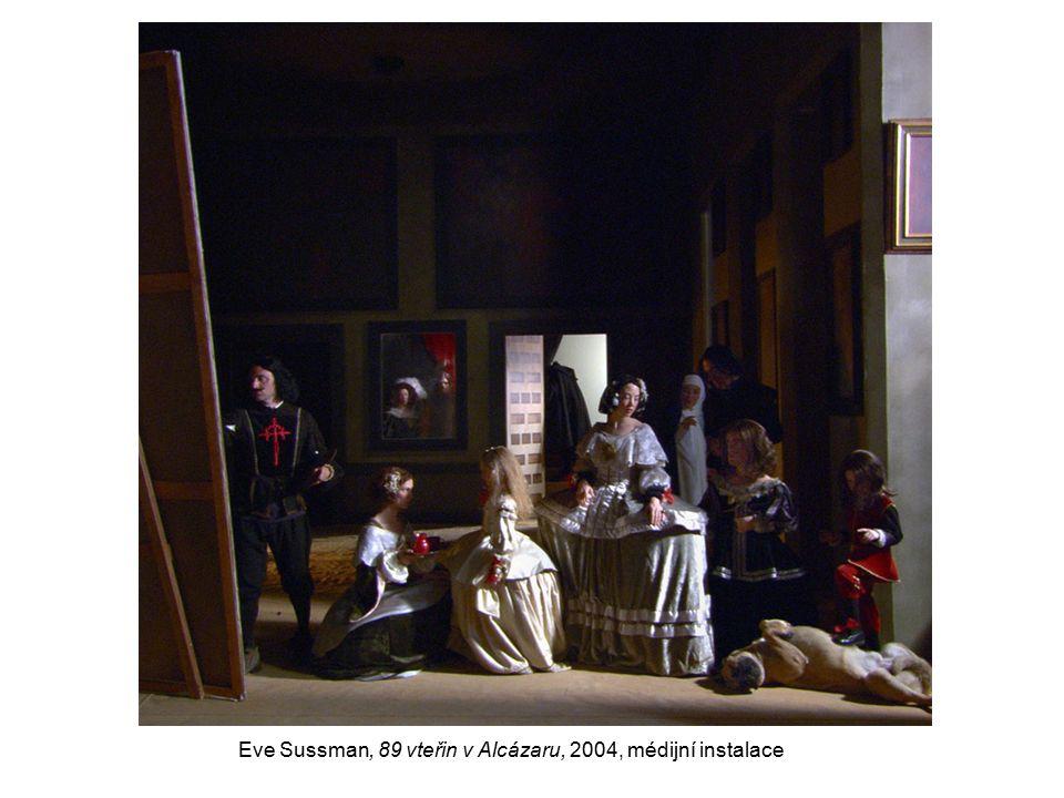 Eve Sussman, 89 vteřin v Alcázaru, 2004, médijní instalace