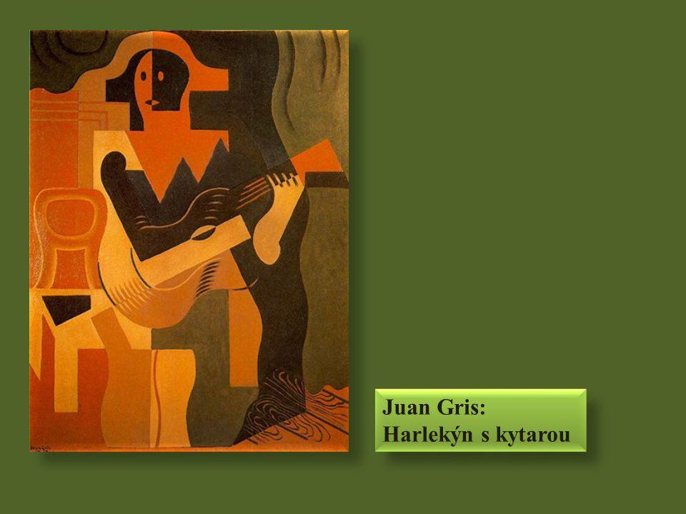 Juan Gris: Harlekýn s kytarou Juan Gris: Harlekýn s kytarou