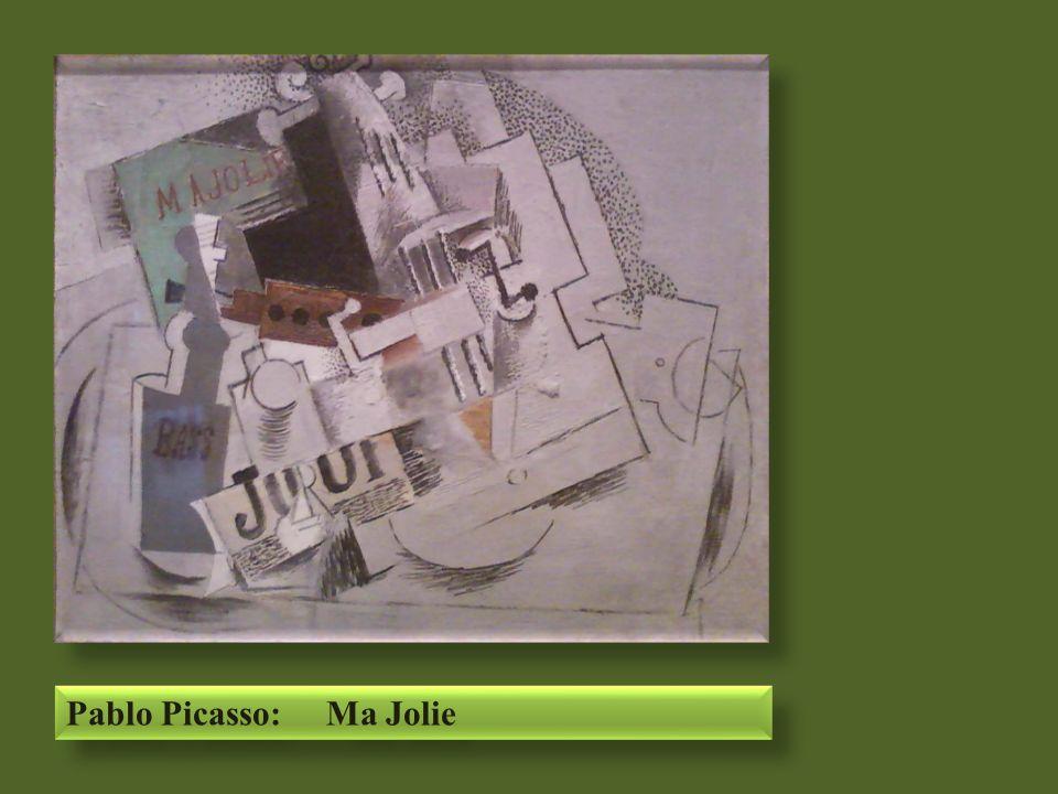 Pablo Picasso: Ma Jolie