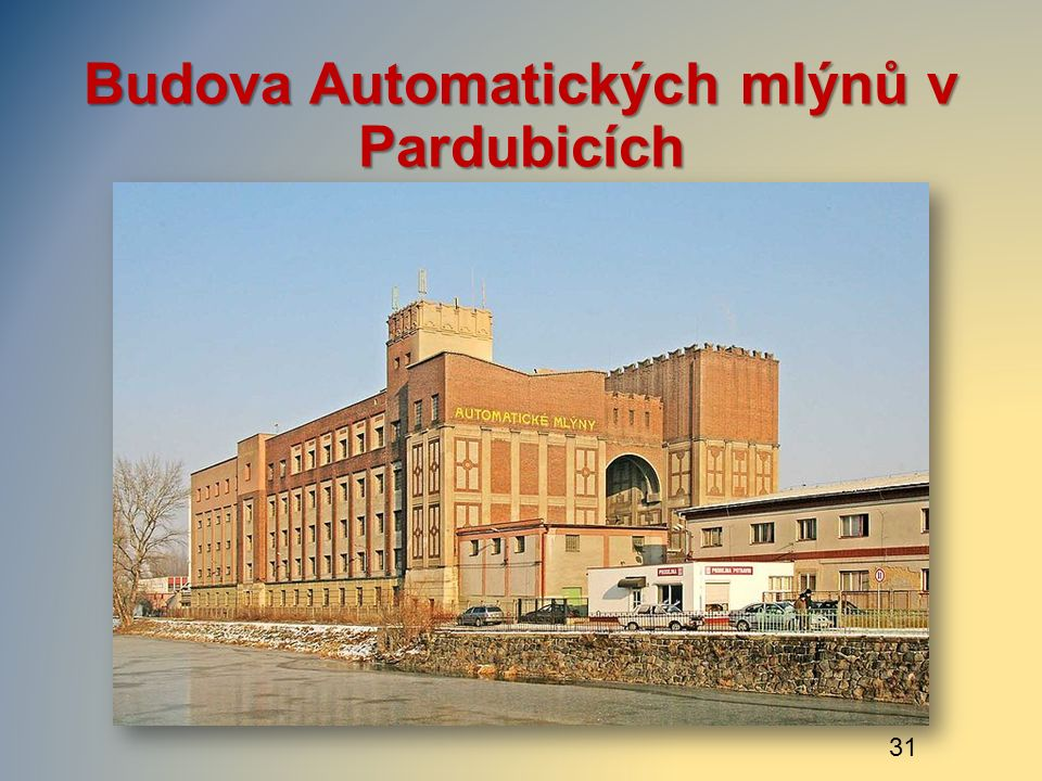 Budova Automatických mlýnů v Pardubicích 31
