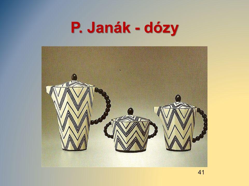 P. Janák - dózy 41