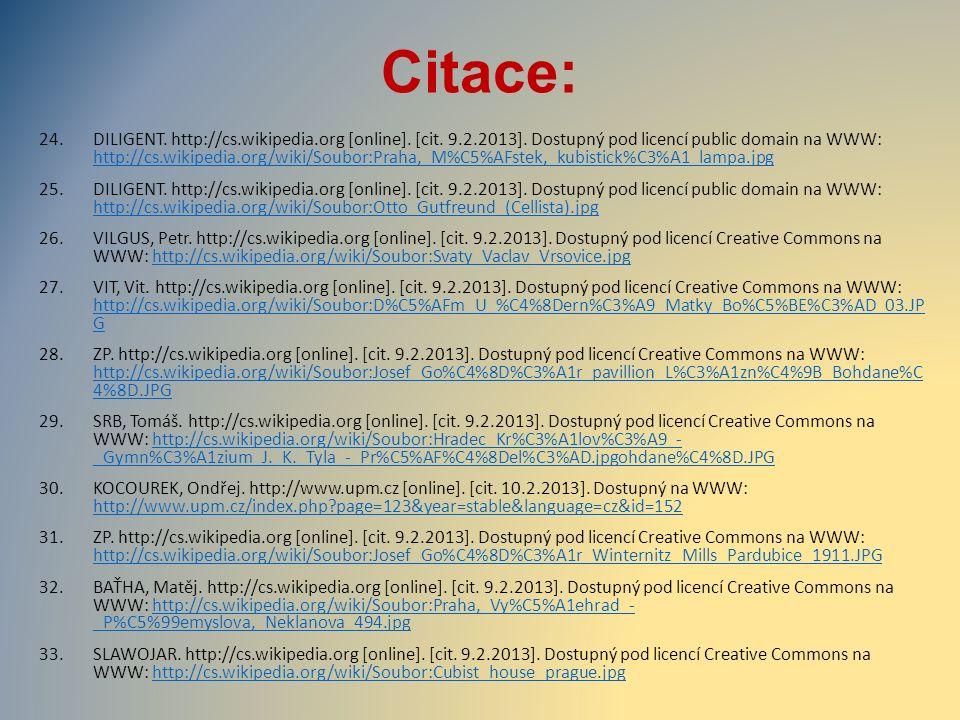 Citace: 24.DILIGENT. http://cs.wikipedia.org [online]. [cit. 9.2.2013]. Dostupný pod licencí public domain na WWW: http://cs.wikipedia.org/wiki/Soubor