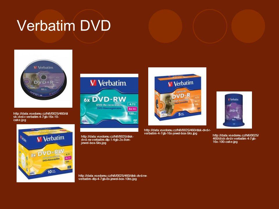 Verbatim DVD http://data.vsedomu.cz/hifi/0025/460/di sk-dvd-r-verbatim-4-7gb-16x-10- cake.jpg http://data.vsedomu.cz/hifi/0025/460/disk-dvd-r- verbatim-4-7gb-16x-jewel-box-5ks.jpg http://data.vsedomu.cz/hifi/0025/disk- dvd-rw-verbatim-dlp-1-4gb-2x-8cm- jewel-box-5ks.jpg http://data.vsedomu.cz/hifi/0025/ 460/disk-dvd-r-verbatim-4-7gb- 16x-100-cake.jpg http://data.vsedomu.cz/hifi/0025/460/disk-dvd-rw- verbatim-dlp-4-7gb-8x-jewel-box-10ks.jpg