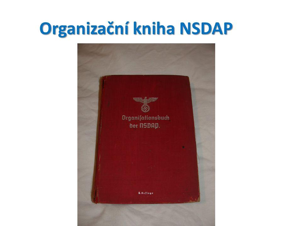 Organizační kniha NSDAP