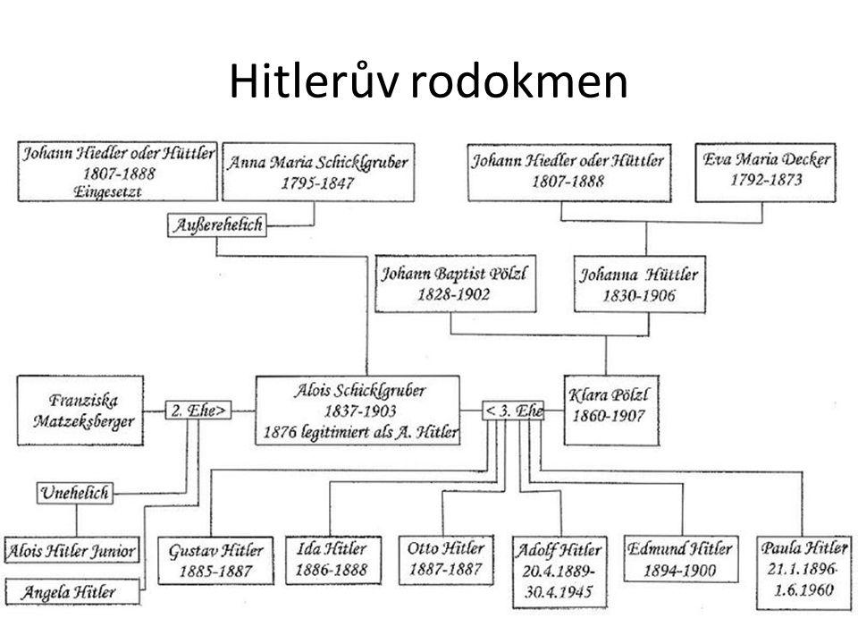 Hitlerův rodokmen