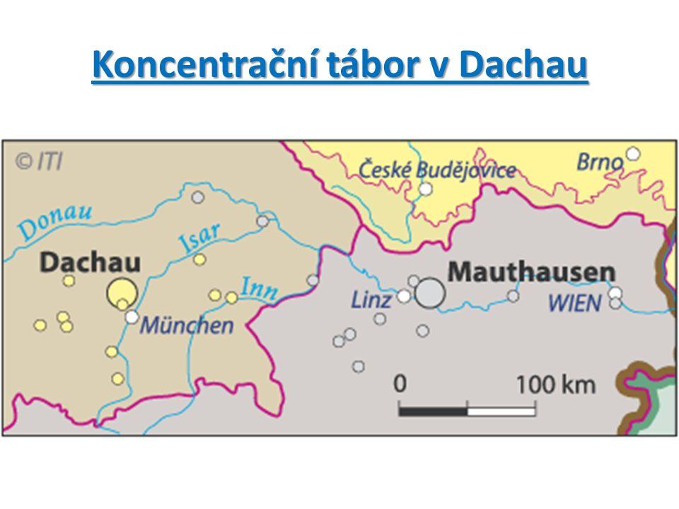 Koncentrační tábor v Dachau