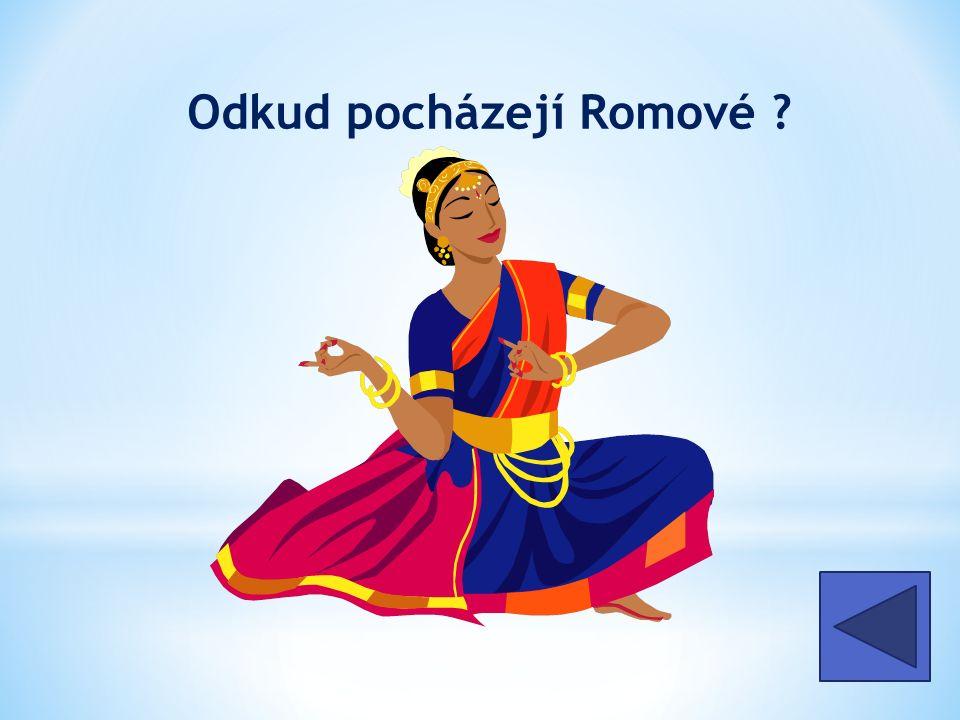 Odkud pocházejí Romové z Indie