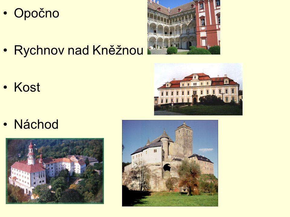 Opočno Rychnov nad Kněžnou Kost Náchod