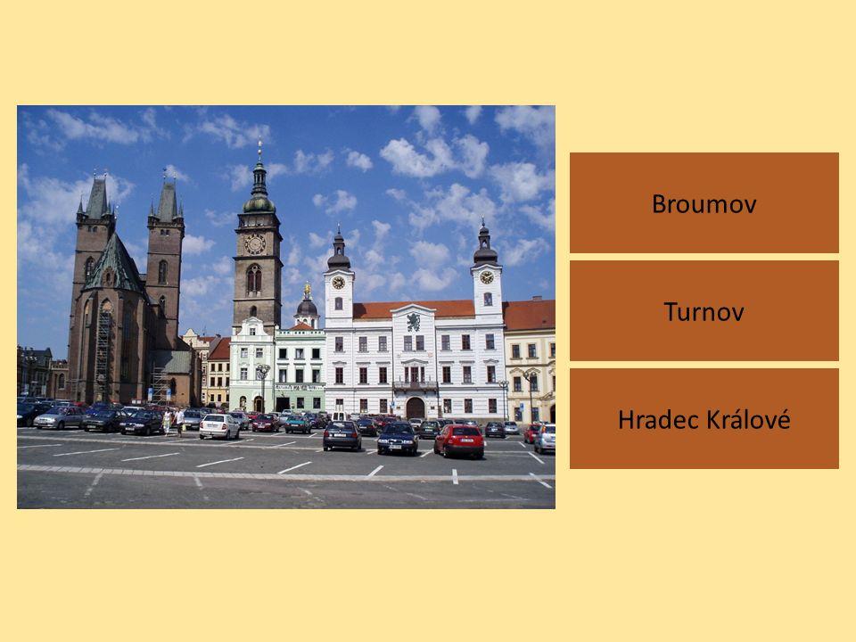 Broumov Hradec Králové Turnov