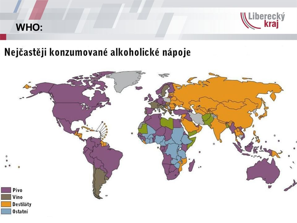 Alkohol v Evropě Zpráva pro EU Alkohol v Evropě; Peter Anderson a Ben Baumberg, červen 2006 -celoevropská analýza alkoholu ze zdravotních, sociálních a bezpečnostních hledisek -v souhrnu 15 závěrů adresovaných státům EU a řada konkrétních doporučení, dělených do 10 oblastí Dostupná na web.