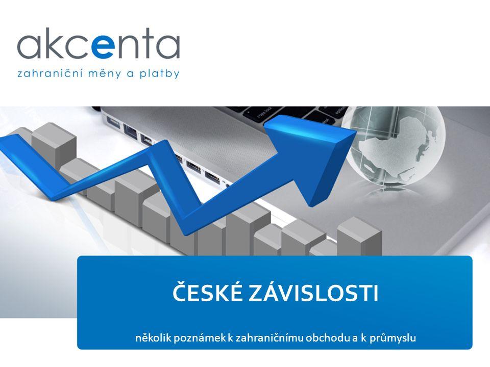 několik poznámek k zahraničnímu obchodu a k průmyslu ČESKÉ ZÁVISLOSTI