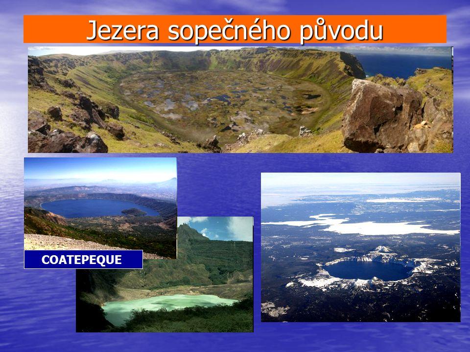 Jezera sopečného původu COATEPEQUE