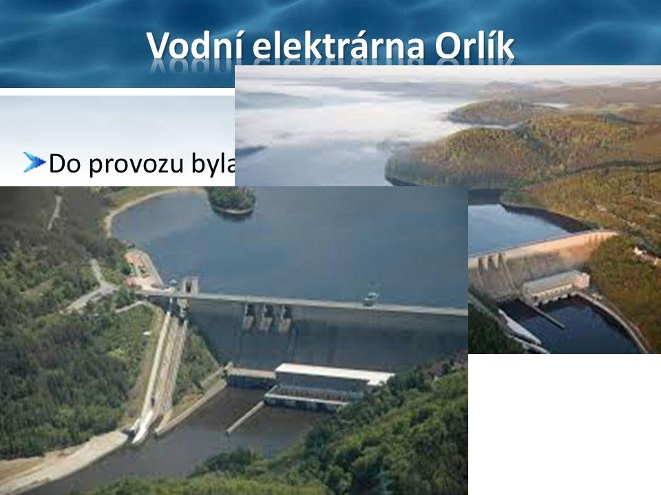 Do provozu byla umístěna v letech 1960-1961 Celkový instalovaný výkon činí 364 MW
