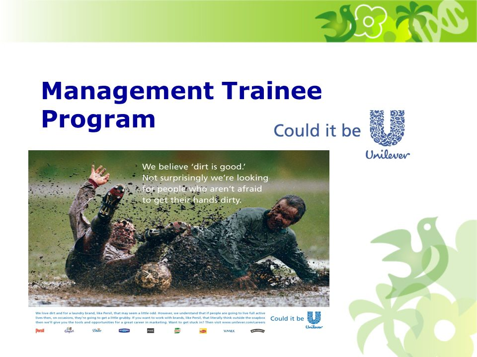 Koho hledáme do Management Trainee Programu.