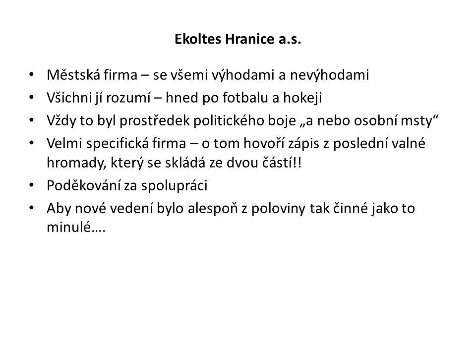 Ekoltes Hranice a.s.
