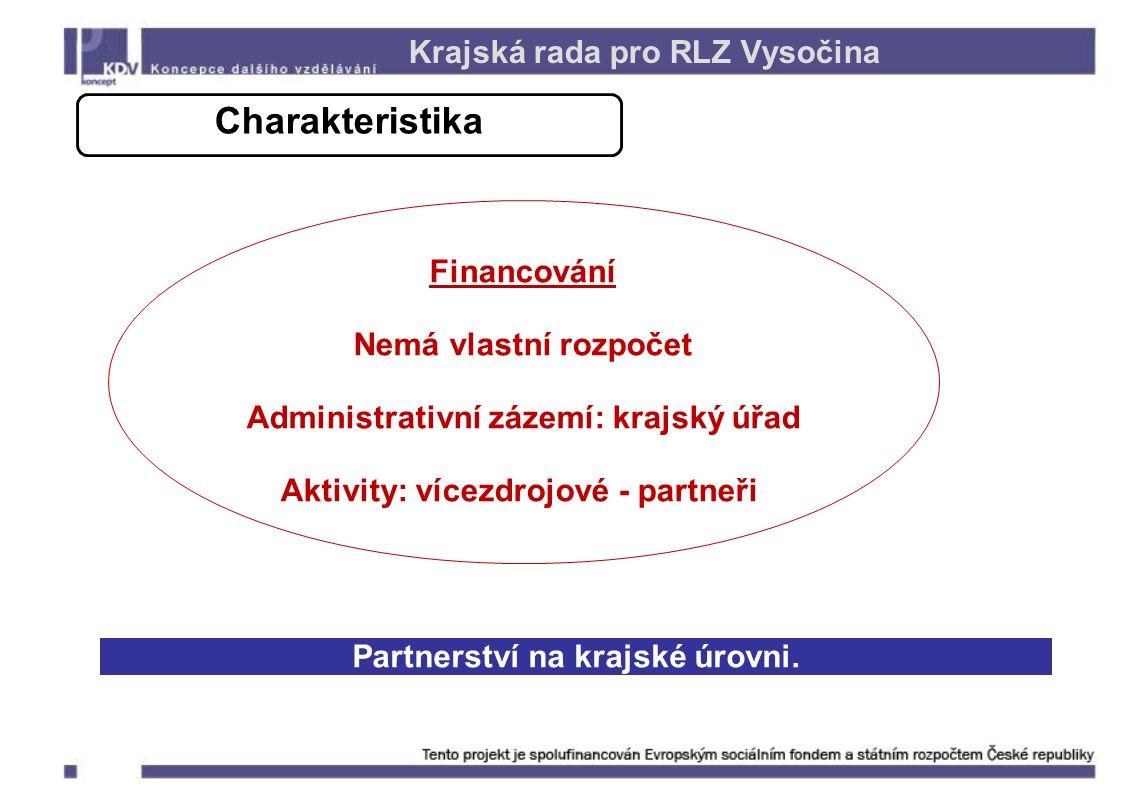 Partnerství na krajské úrovni.