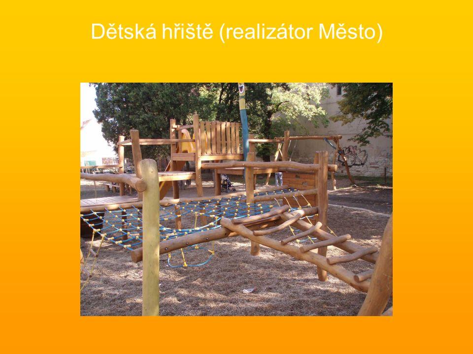 Dětská hřiště (realizátor Město)