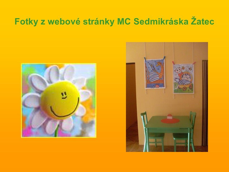 Fotky z webové stránky MC Sedmikráska Žatec
