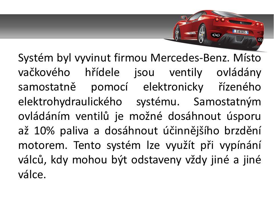 Systém byl vyvinut firmou Mercedes-Benz.