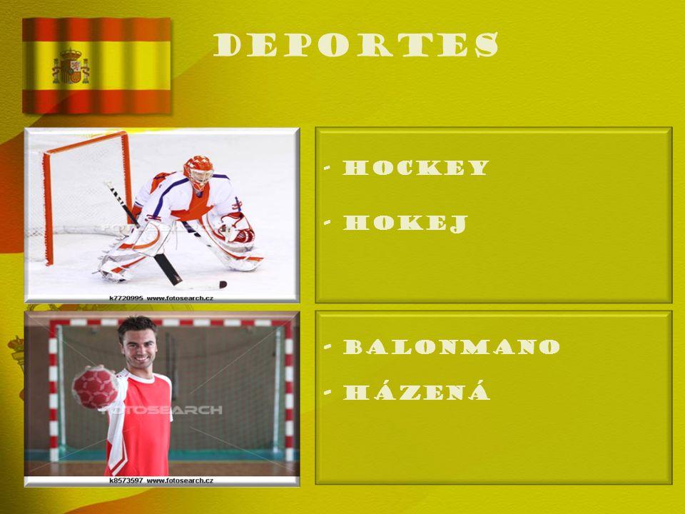 deportes - HOCKEY - Hokej - BALONMANO - Házená