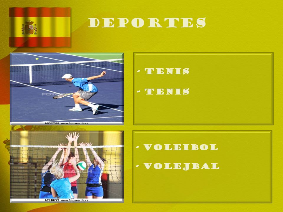 deportes - TENIS - Tenis - VOLEIBOL - Volejbal