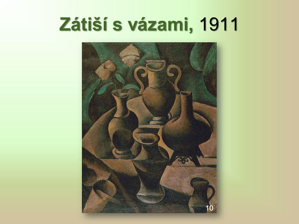 Zátiší s vázami, 1911 10