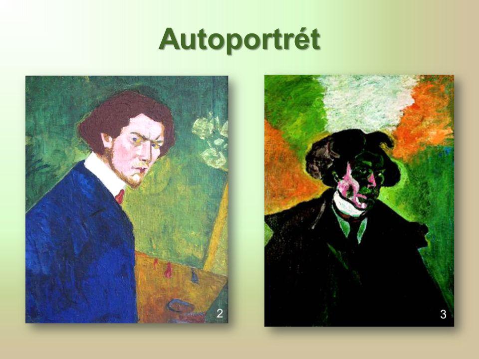 Vlastní podobizna se založenýma rukama, 1911  vliv Munchovy výstavy v roce 1905  v období 1905–1907 přecházel od akademického postimpresionismu k expresionismu  zúčastnil se obou výstav Osmy v letech 1907–1908 4