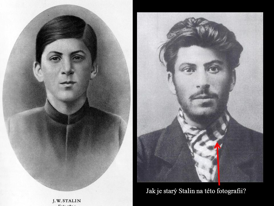 Jak je starý Stalin na této fotografii?