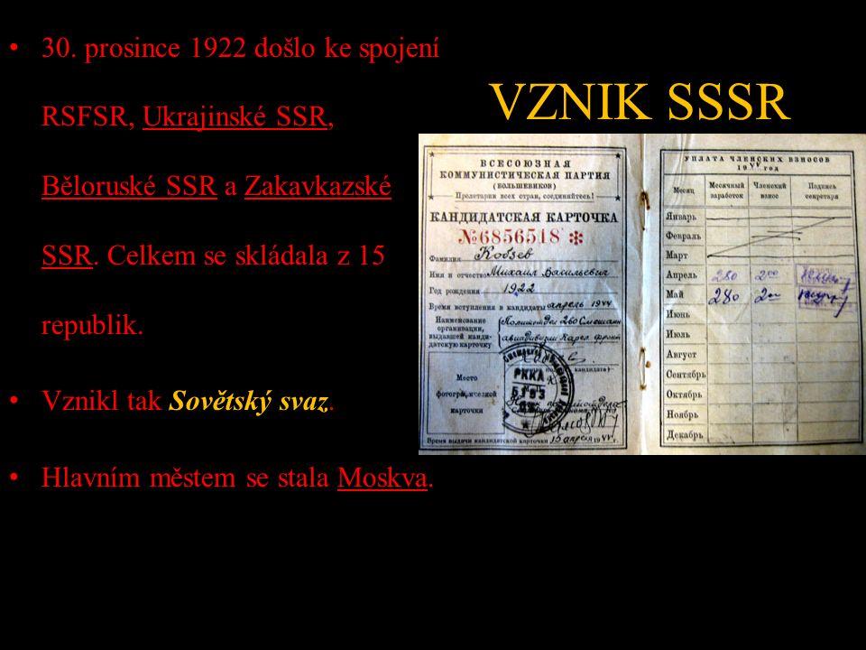 VZNIK SSSR 30.