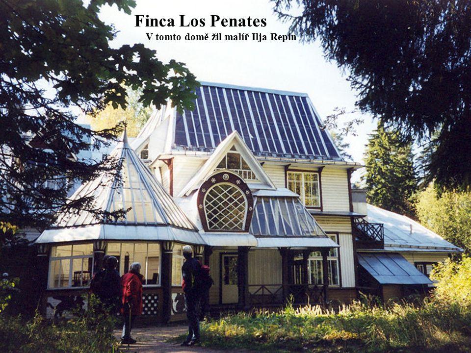 Finca Los Penates V tomto domě žil malíř Ilja Repin