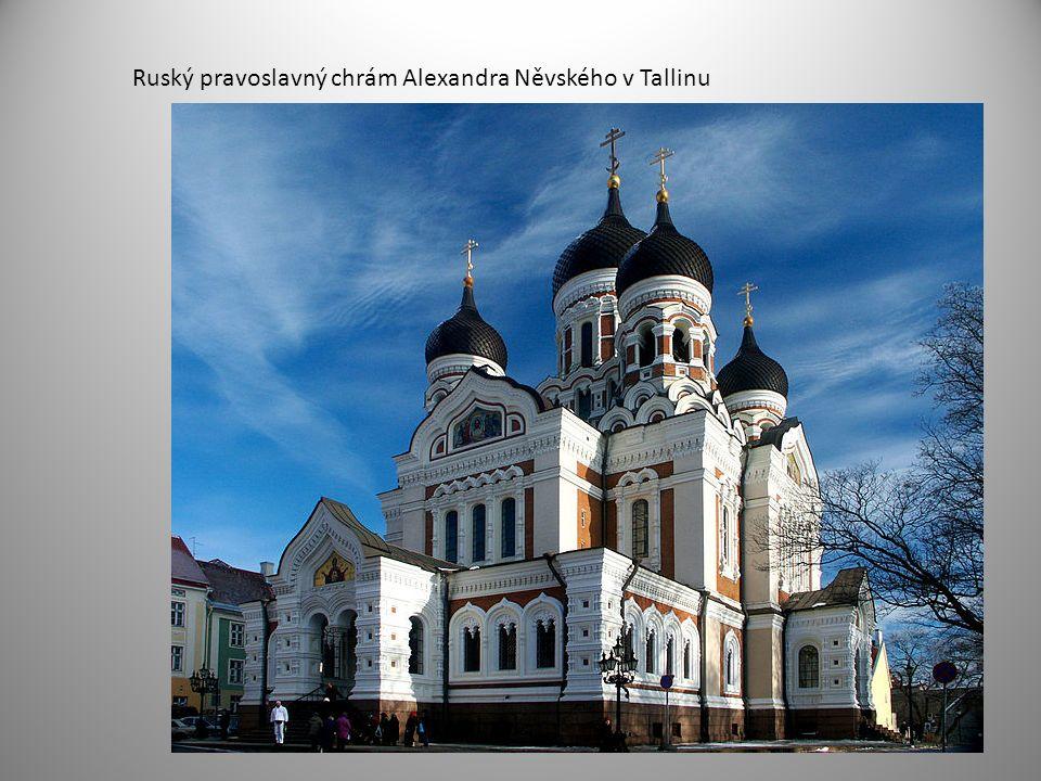 Ruský pravoslavný chrám Alexandra Něvského v Tallinu