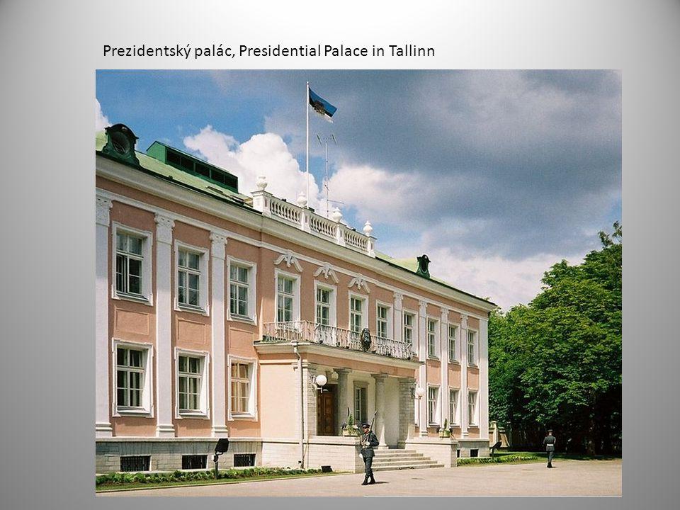 Prezidentský palác, Presidential Palace in Tallinn