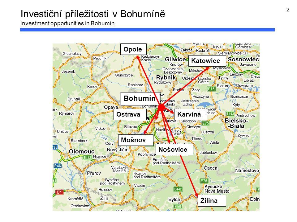 2 Bohumín Katowice Žilina Ostrava Mošnov Nošovice Opole Karviná