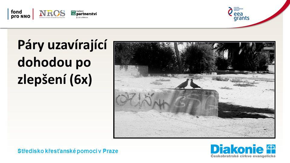 Středisko křesťanské pomoci v Praze Páry uzavírající dohodou po zlepšení (6x)
