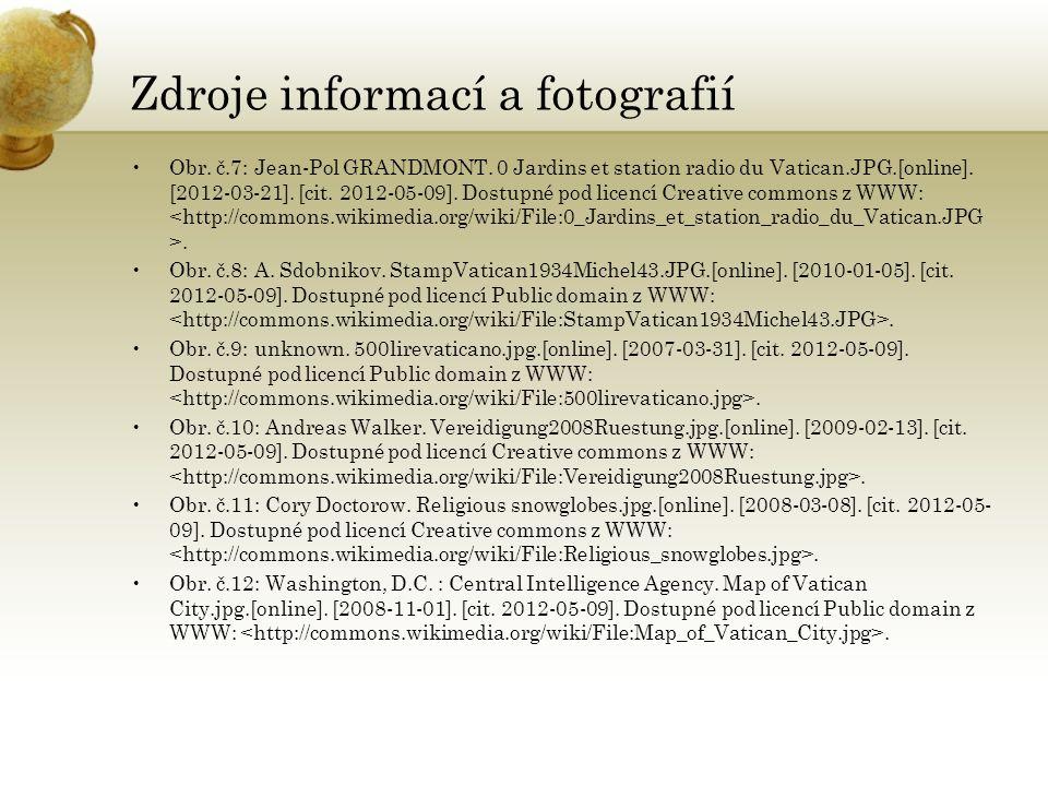 Zdroje informací a fotografií Obr. č.7: Jean-Pol GRANDMONT.