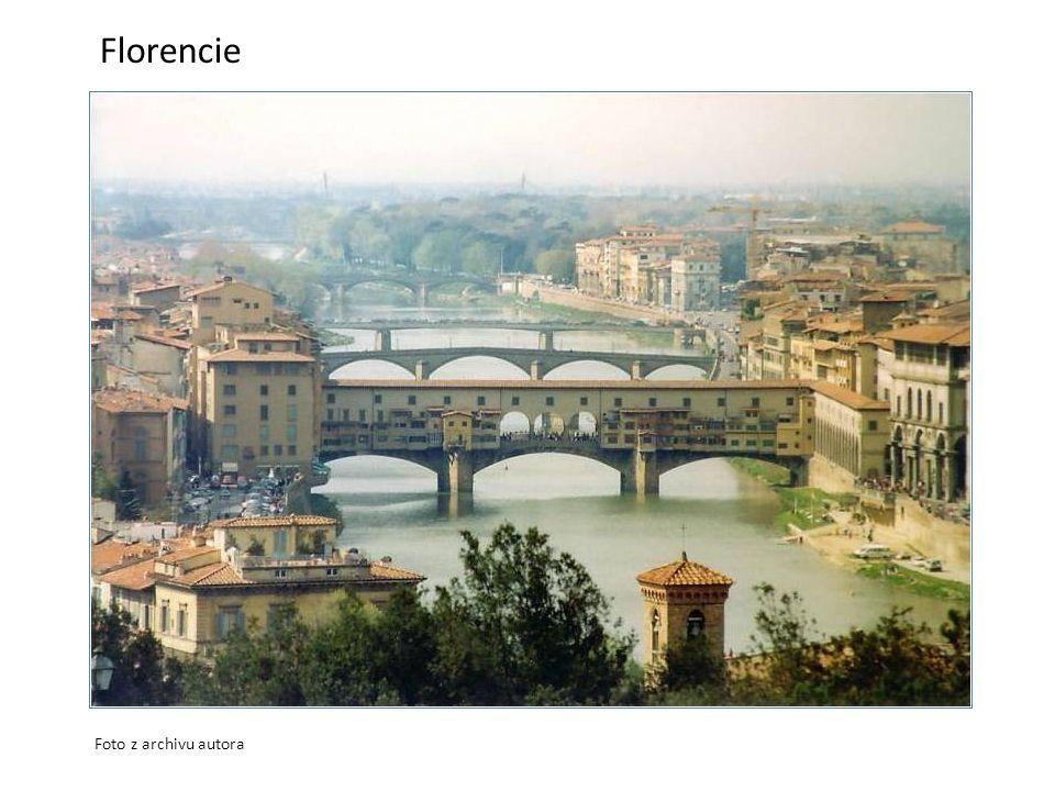 Florencie Foto z archivu autora