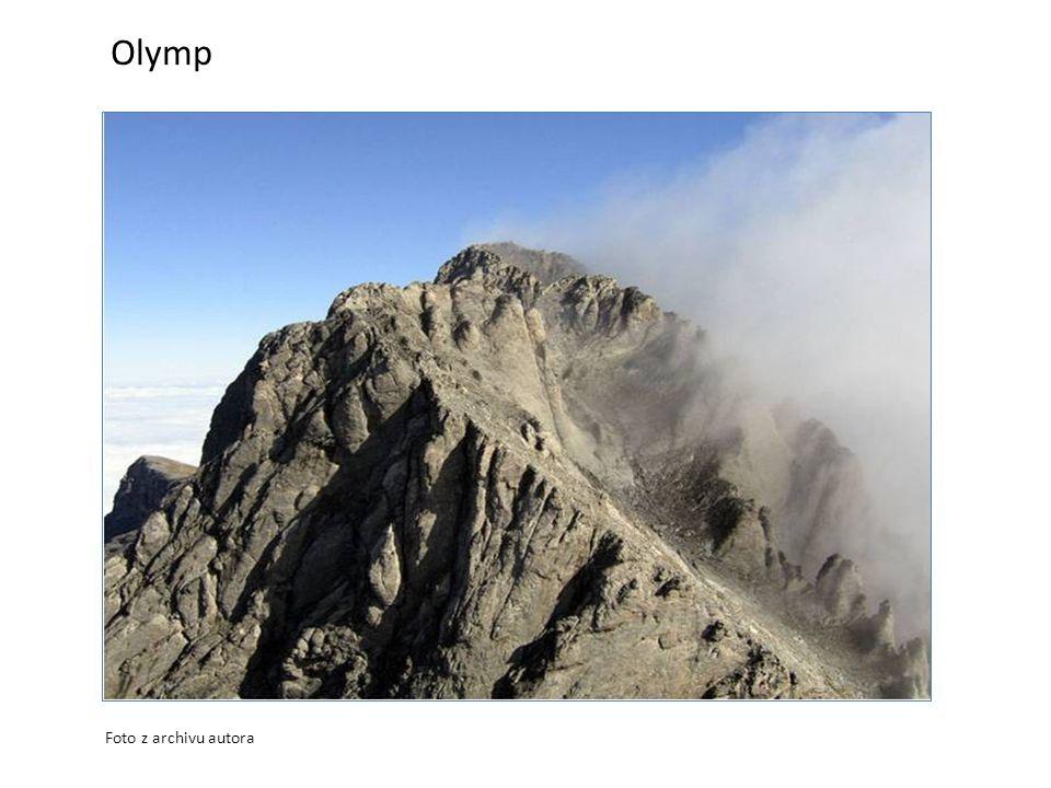 Olymp Foto z archivu autora