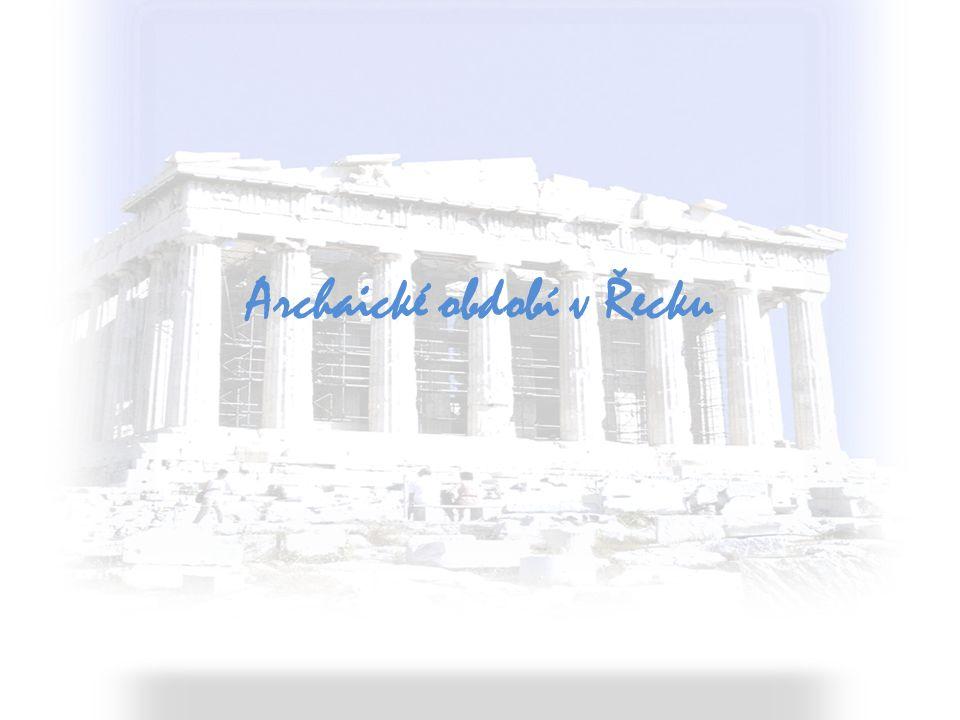 Archaické období v Řecku