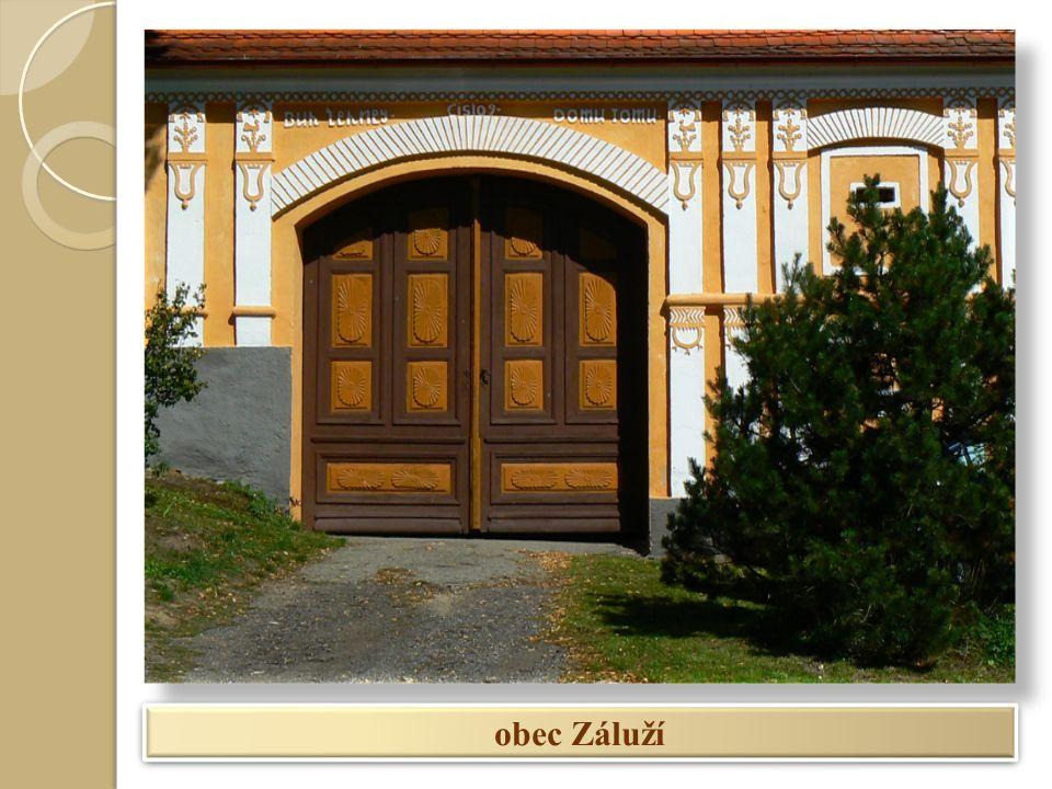 obec Záluží