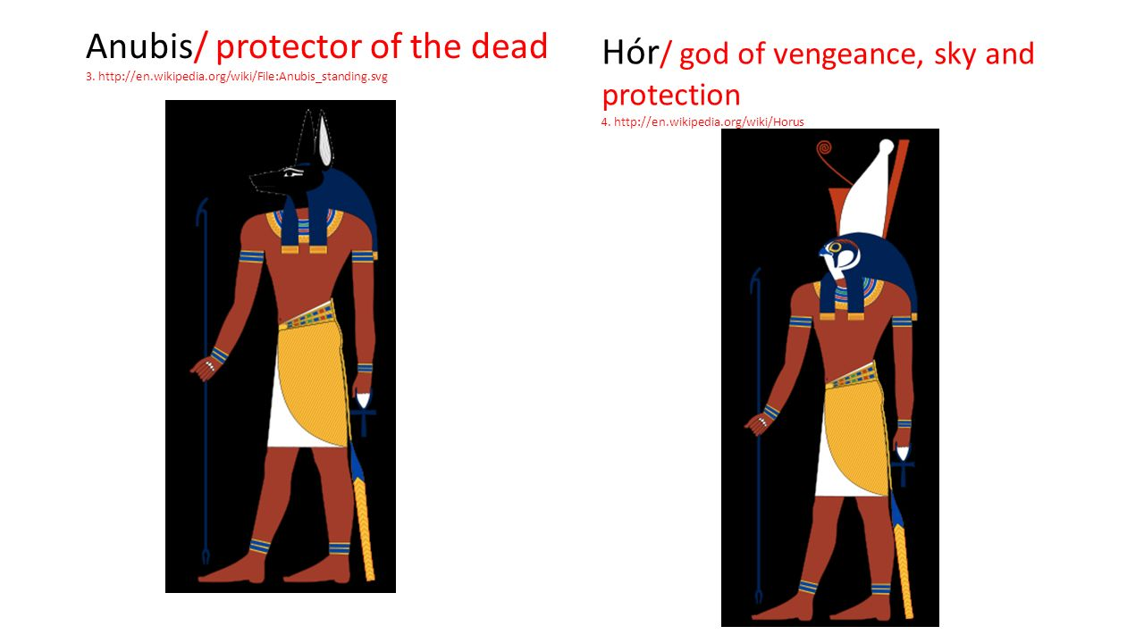Anubis/ protector of the dead 3.