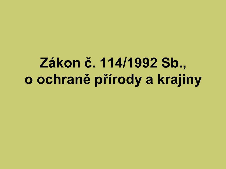 § 3 Vybraní živočichové a)bobr evropský b)vydra říční kormorán velký Poznámka: Od 1.