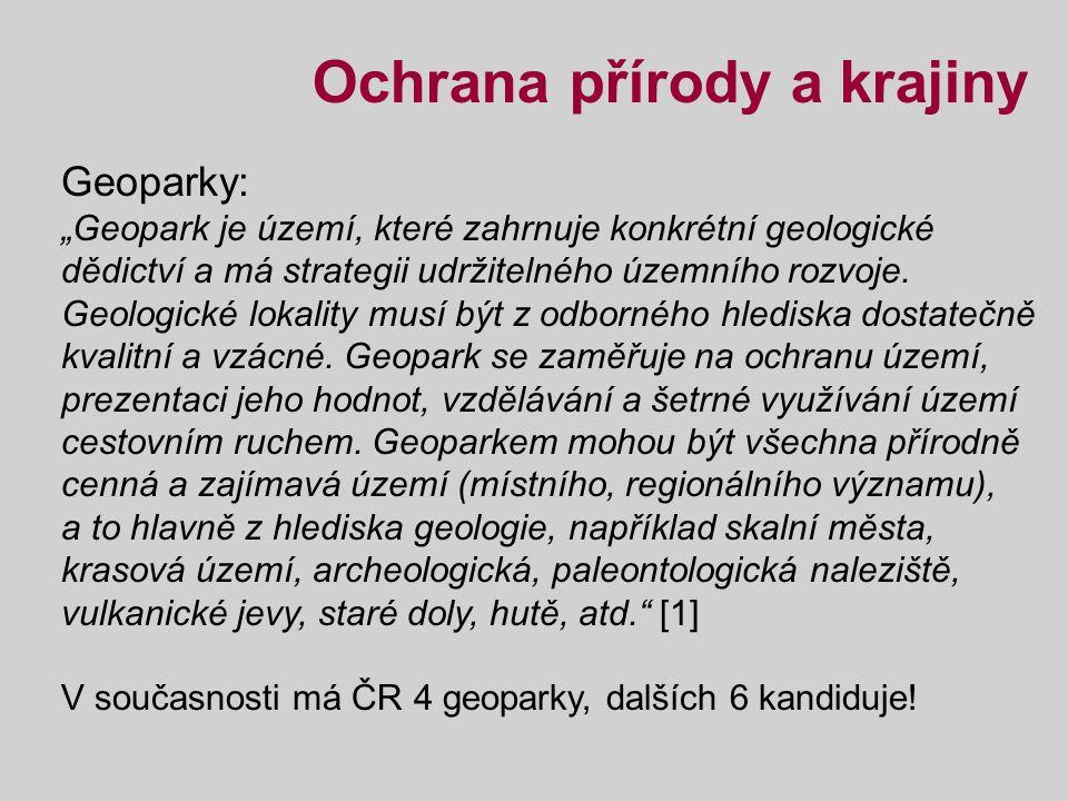 Obr. č. 1: Geopark Český kras [1]
