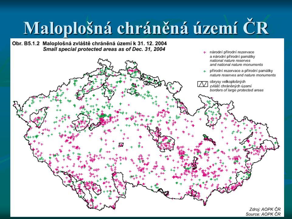 Maloplošná chráněná území ČR