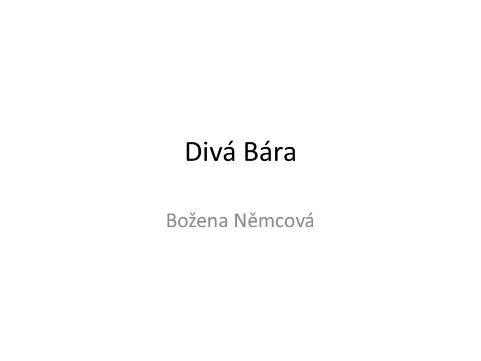 Divá Bára Božena Němcová