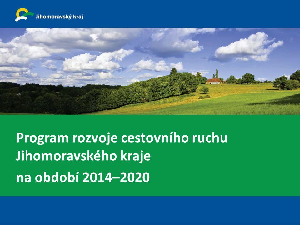 Program rozvoje cestovního ruchu Jihomoravského kraje na období 2014–2020